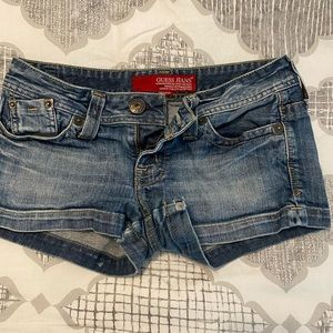 Size 29 Guess Jean shorts